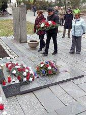 Na Den boje za svobodu a demokracii nezapomněli ani v Třeboni