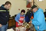 Vepřové hody uspořádal v Deštné místní Sbor dobrovolných hasičů.