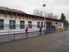 Autobusové nádraží v Dačicích prochází rekonstrukcí.