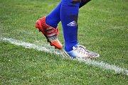 Momentky z utkání 9. kola fotbalového přeboru mužů Buk - Studená (2:1).