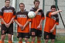 V číměřském dresu by se měli objevit i Petr Mihula, Jan Drábik, Jan Kandl a Petr Kodada (zleva).