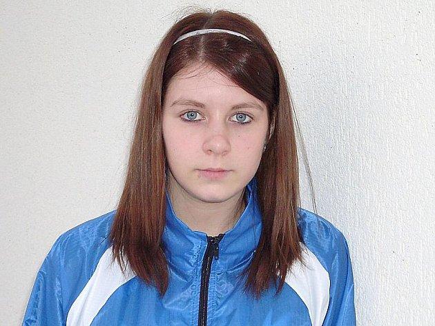 Atletka Barbora Němcová.