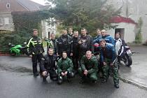 Žehnání motorkářům ve Stráži nad Nežárkou.