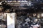 Noční požár skladu v Oldřiši u Blažejova na Jindřichohradecku způsobil škodu přes 1,1 milionu korun.