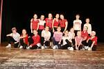 Novoroční taneční akademie zajistila v uplynulém týdnu nabitý sál Kulturního domu Střelnice. Bylo zcela vyprodáno.