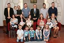 V Dačicích se i v prosinci konalo vítání nově narozených dětí.