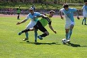 Jindřichohradečtí fotbalisté si v 22. kole KP poradili s Osekem, který porazili 3:1.
