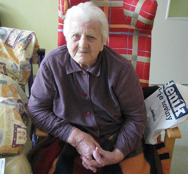 Marie Jirková oslavila 100 let.