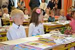 První školní den ve 2. základní škole v Jindřichově Hradci.