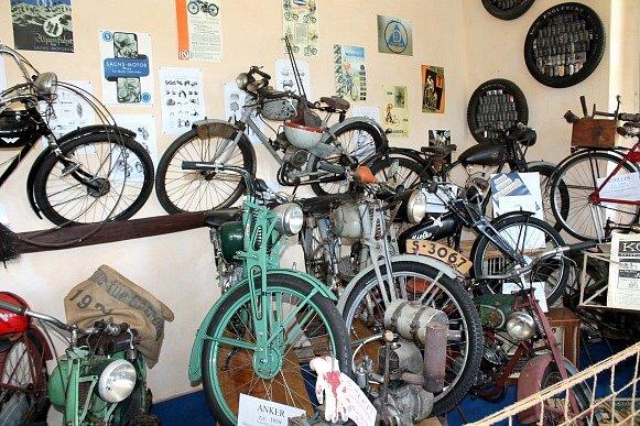 Muzeum motokol Horní Radouň.