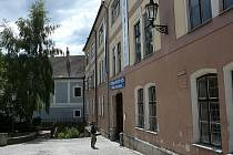 Pohled na budovu bývalého pivovaru v Jindřichově Hradci.