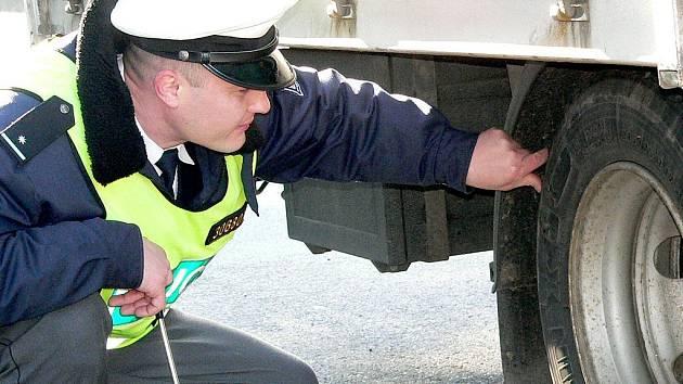 Dopravně bezpečnostní akce. Ilustrační foto.