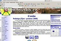 Nový web Strmilova.