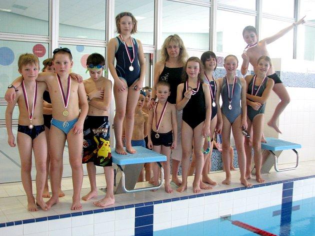 V jindřichohradeckém plaveckém bazénu se uskutečnila dvoudenní plavecká olympiáda základních a středních škol.