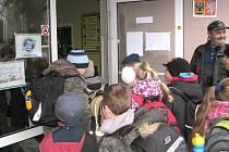 V Kardašově Řečici školáci ve středu začali kvůli stávce učitelů až v 9 hodin.