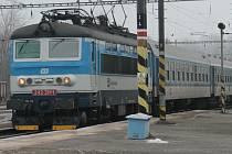Vlak. Ilustrační foto.