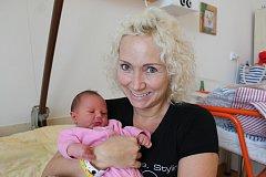 Adélka Vávrová se narodila 29. prosince Erice a Martinu Vávrovým z Děbolína. Měřila 43 centimetrů a vážila 3330 gramů.