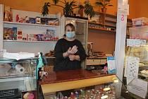Cukrárna U Loulů v Kardašově Řečici.