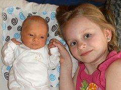 Šimon Utěšený se narodil 24. března Lence a Miroslavu Utěšeným z Tuště. Měřil 52 centimetrů a vážil 2860 gramů. Těší se z něj i sestřička Michalka.