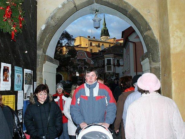 Advent na jindřichohradeckém zámku