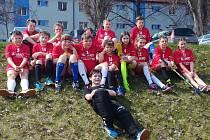 Mladší žáci FK Slovan Jindřichův Hradec.