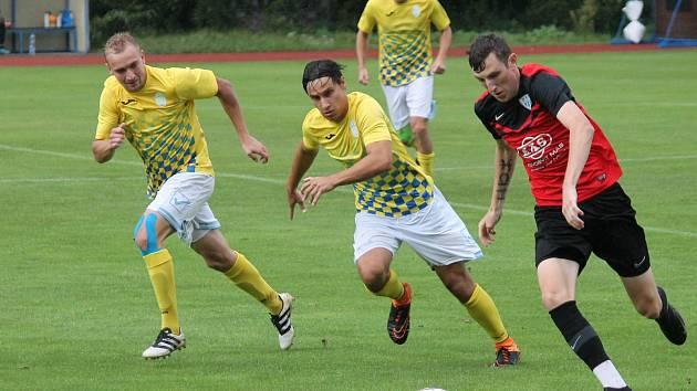 Jindřichohradečtí fotbalisté v dalším přípravném duelu podlehli béčku Táborska 3:4.