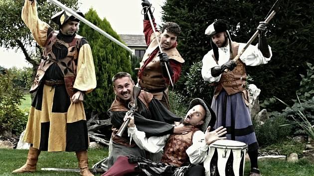 Bratři z Růže vystoupí v Třeboni