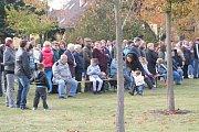 V uplynulém týdnu zasadili Lužničtí stromy svobody ke 100. výročí Československa.