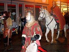 Svatý Martin vloni do Jindřichova Hradce sníh nedovezl. Jak to bude v sobotu?