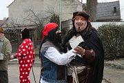 V Chlumu u Třeboně se masopust slaví vždy až týden po tom správném termínu. Je to tady tradice.