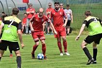 Fotbalisté Třeboně zvítězili v Oseku přesvědčivě 4:0.