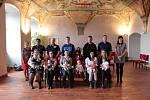 V pátek se v refektáři jindřichohradeckého Muzea fotografie a moderních obrazových médií konalo vítání nově narozených občánků.