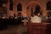 Bohatý program nabídla páteční Noc kostelů v Jindřichově Hradci.