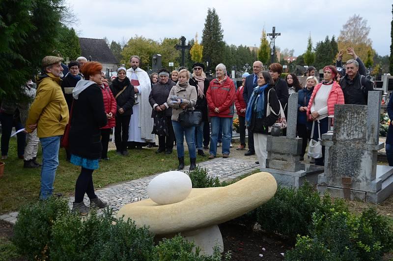 V Třeboni odhalili pomník zemřelým dětem.Foto: Hospicová péče sv. Kleofáše