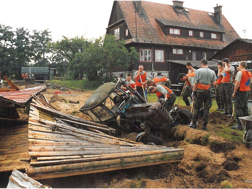 Povodně 2002 - Jindřichohradecko.