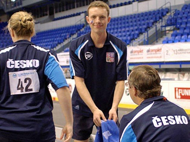 Medailista z mistrovství světa Jiří  Němec je hlavní oporou dačických kuželkářů.