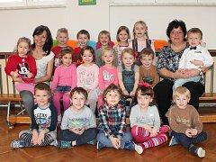 V první třídě odloučeného pracoviště 4. mateřské školy ve Sládkově ulici v Jindřichově Hradci se o děti starají Iva Kostková a Magdalena Tesařová.