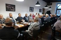 Tradiční každoroční setkání bývalých policistů v Jindřichova Hradce.