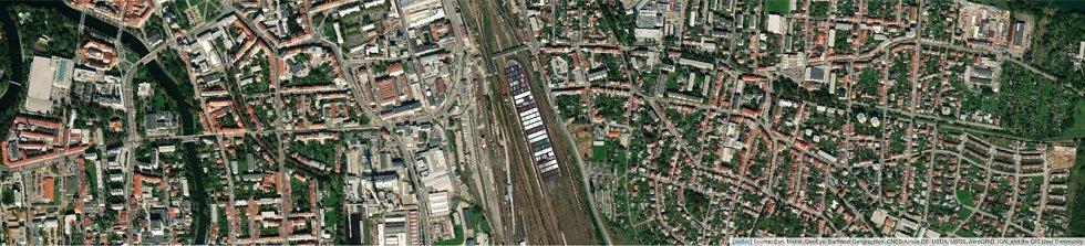 Jaké místo by obří kontejnerová loď Ever Given zabrala na budějovickém nádraží?