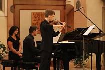 Čtvrteční koncert 17. září v kapli sv. Máří Magdaleny v Jindřichově Hradci.