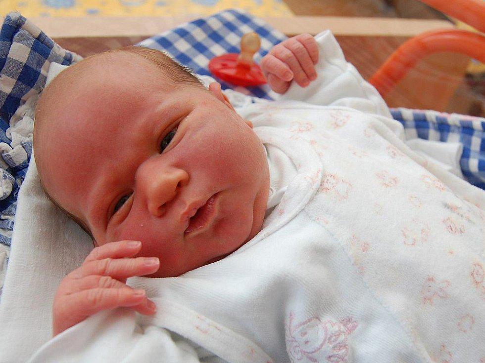 Vanesa Mrkusová z Kunžaku, 22. ledna 2010, 3630 gramů, 47 centimetrů