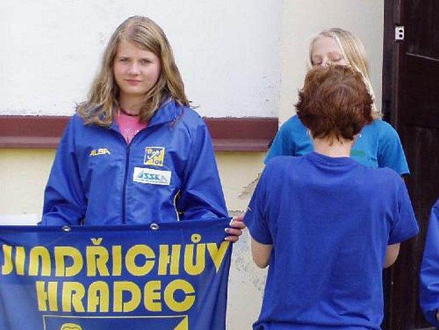 Veronika Parkanová obsadila v 10. kole Ligy Vysočiny orientačních běžců druhé místo v kategorii dívek do 14 let.
