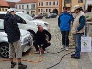 V Dačicích se konal Den bez aut.