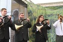Myslivečtí trubači (ilustrační foto).