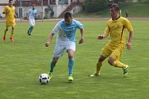 Jindřichohradečtí fotbalisté v 26. kole KP podlehli doma Želči 1:2.