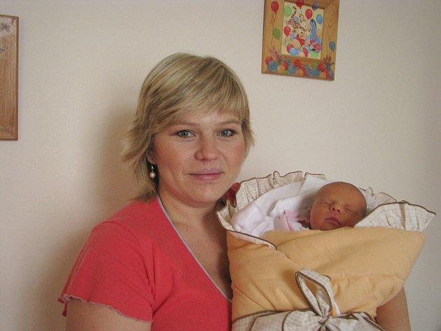Ivana Krajíčková z Nové Bystřice se narodila 25. října 2013 Ivetě Roškové a Radimu Krajíčkovi. Vážila 3080 gramů a měřila 48 centimetrů.