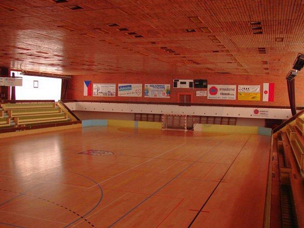 Sportovní hala v Třeboni. Ilustrační foto.