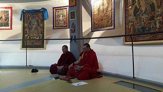 Ve vodárenské věži v Třeboni najdete galerii buddhistického umění.