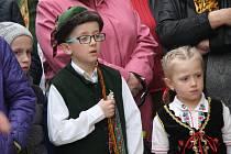 Hradecká velikonoční veselice nabídla spoustu zábavy a připomněla sváteční tradice malým i velkým.