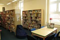 Městská knihovna v Jindřichově Hradci. Ilustrační foto